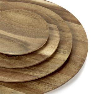 Holzteller Akazie in verschiedenen Größen