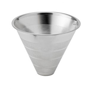Der Filter vom Kaffeefilter Slow aus Edelstahl