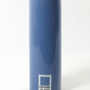 Pantone Vase zylindrisch, blau