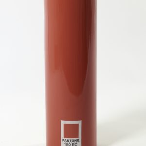 Pantone Vase zylindrisch rot